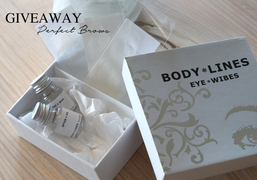 GIVEAWAY - BODY LINES EYE WIBES