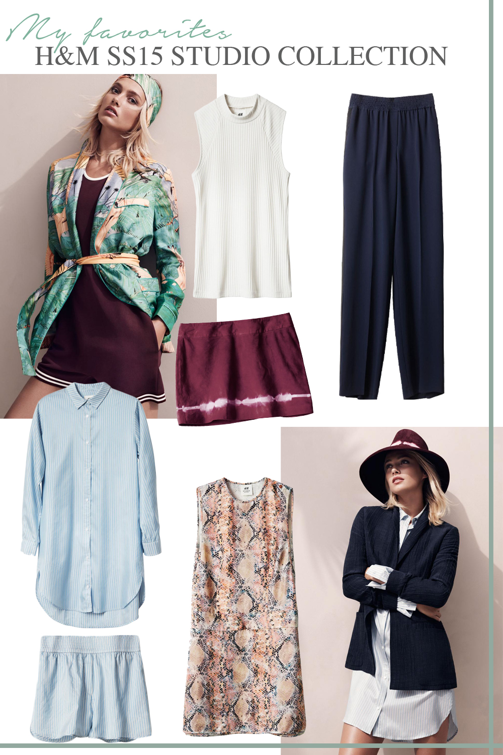 MY FAVORITES: H&M SS15 STUDIO COLLECTION!