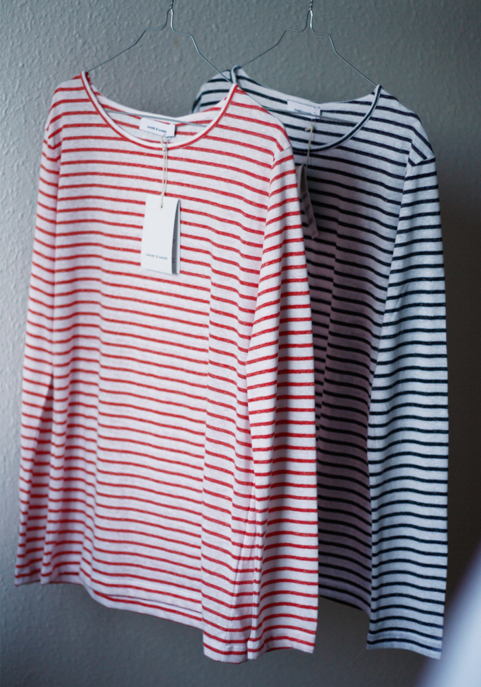 NOBEL STRIPE SHIRTS BY SAMSØE SAMSØE