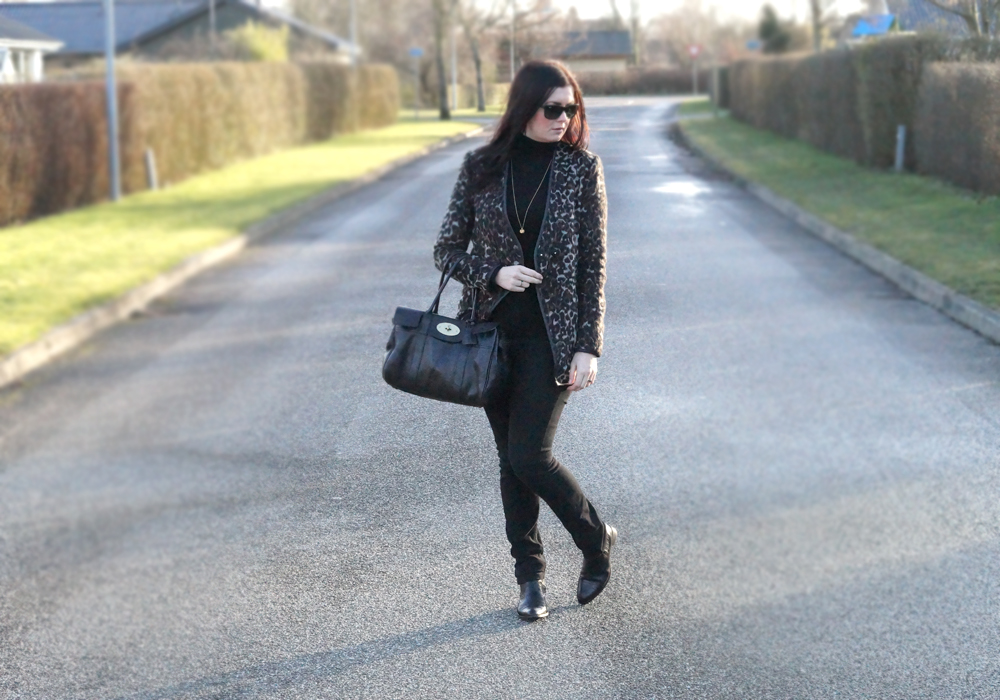 OUTFIT: TURTLENECK & LEOPARD JACKET