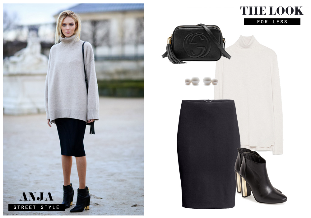 GET THE LOOK FOR LESS - ANJA RUBIK