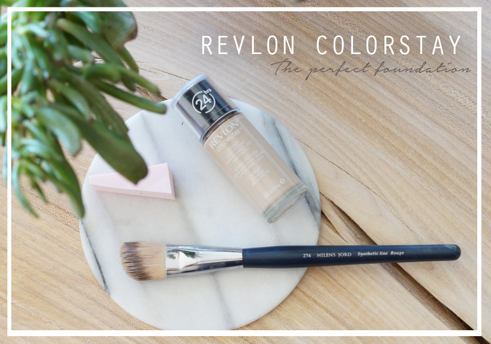 THE PERFECT FOUNDATION - REVLON COLORSTAY