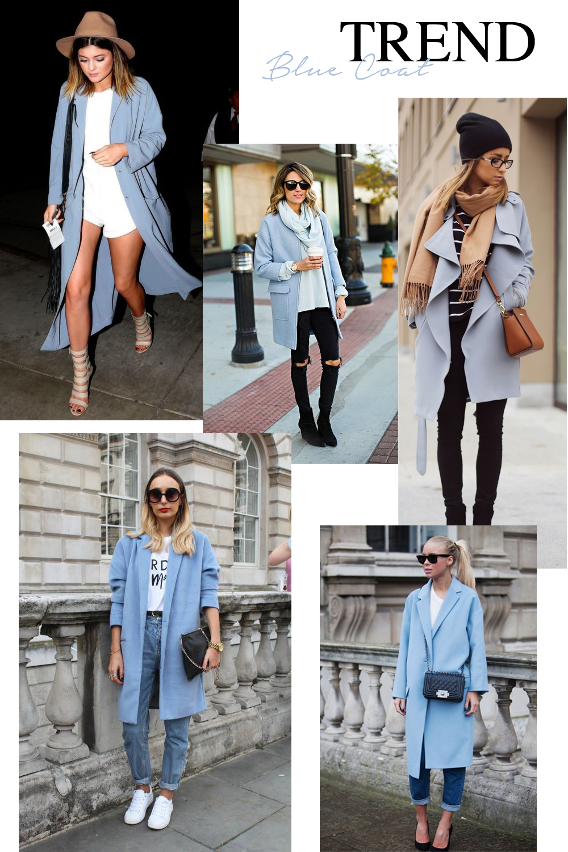 TREND: BABY BLUE COAT