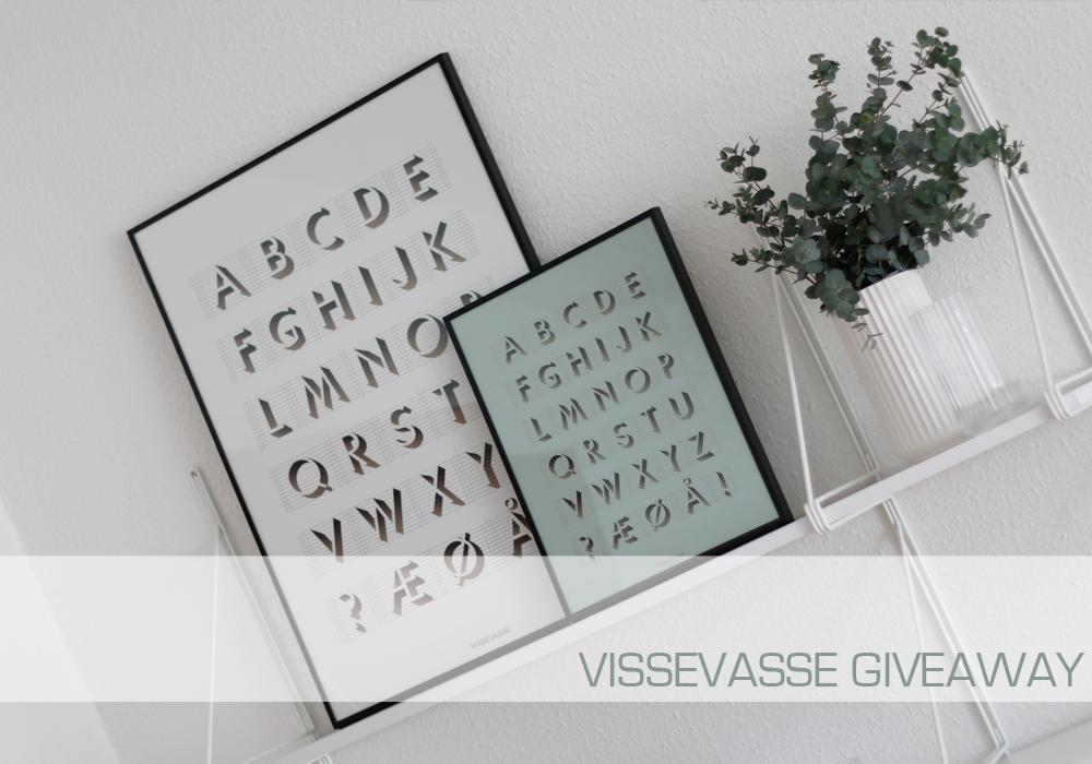 VISSEVASSE GIVEAWAY - VIND EN VALGFRI PLAKAT