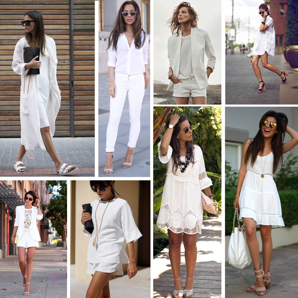 TREND - PRETTY IN WHITE