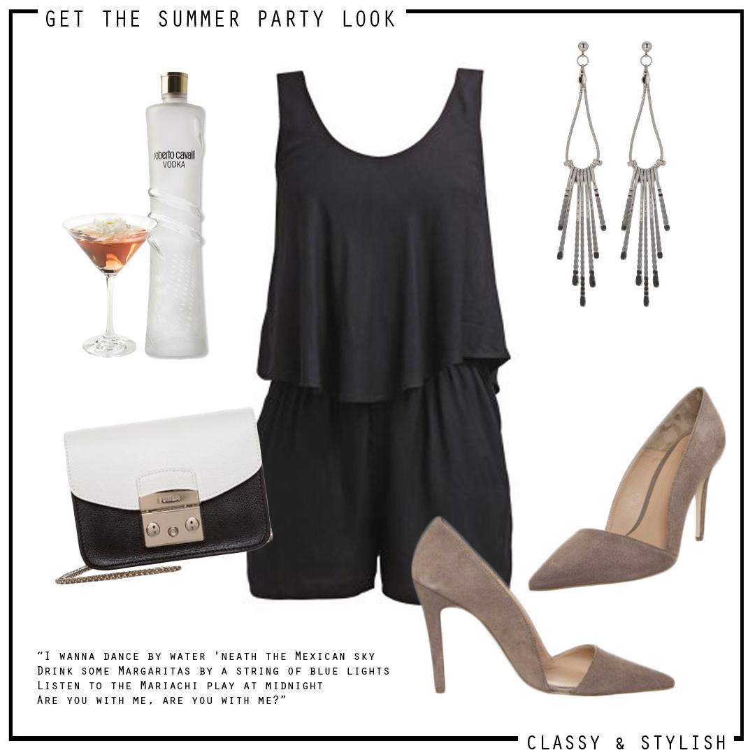 SUMMER PARTY LOOK - JUMPSUITS & PUMPS