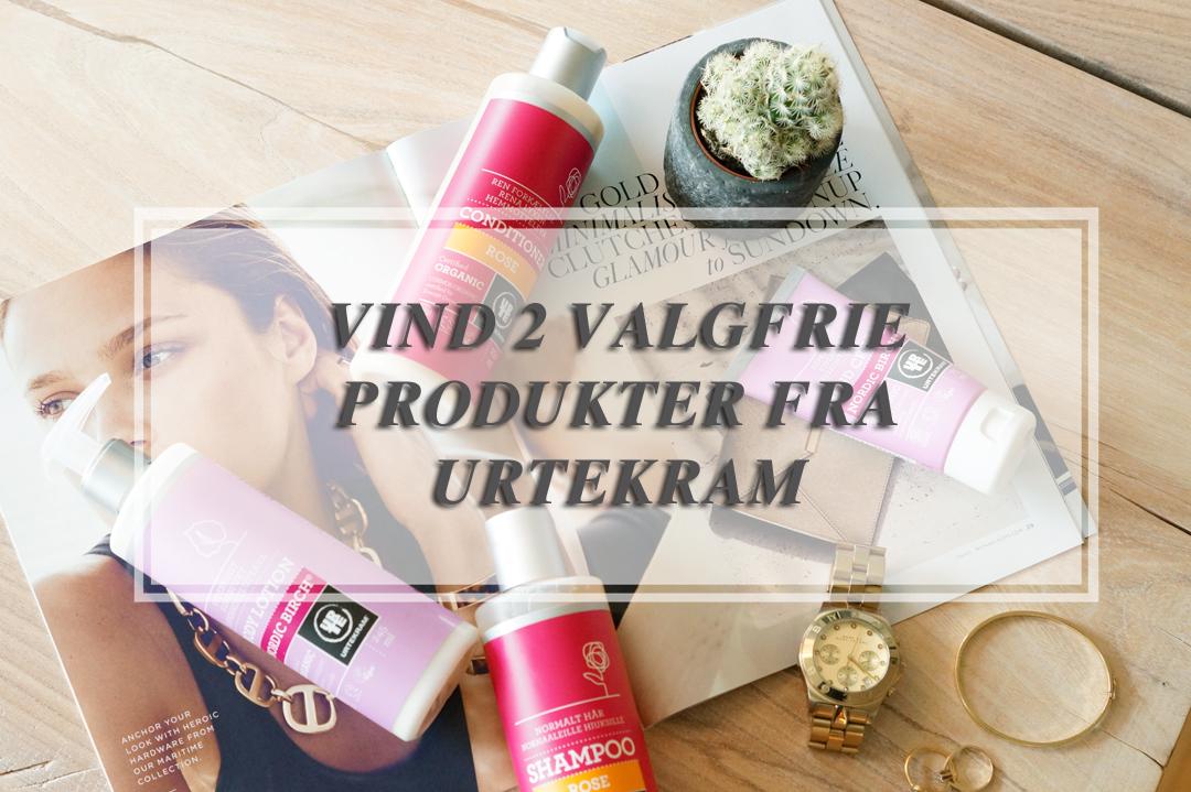 URTEKRAM GIVEAWAY - VIND VALGFRIE PRODUKTER