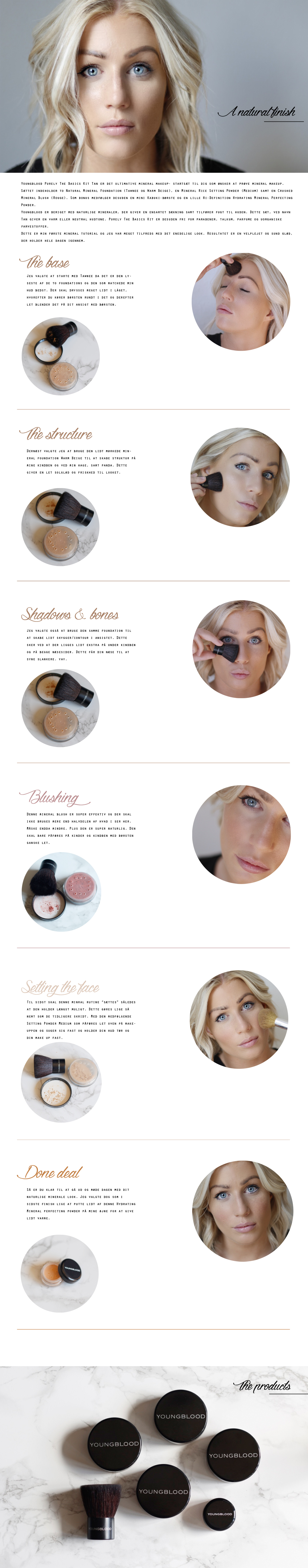 MINERAL MAKEUP TUTORIAL